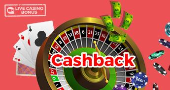 Cash Back Live Casino Bonus